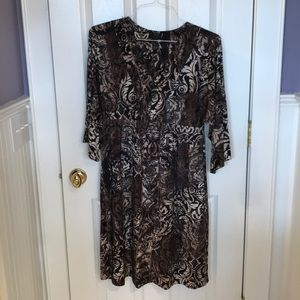 Some Damascus print Dress